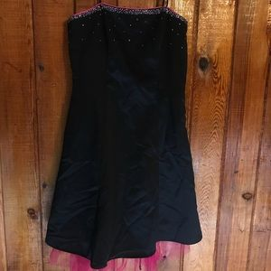 Jump apparel prom dress size 9/10 tie up back